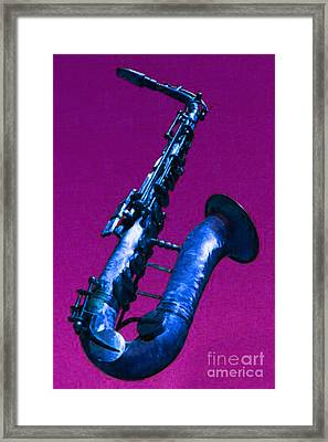 The Blues Framed Print by Wingsdomain Art and Photography
