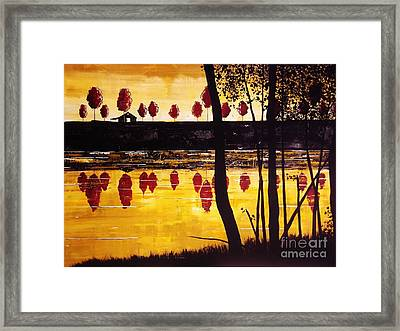 The Bluff Framed Print
