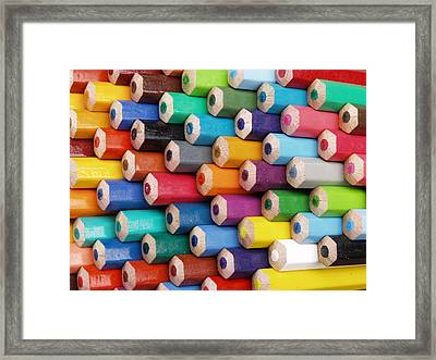 The Blunt End Framed Print