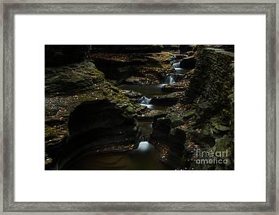The Blur At Watkins Glen Framed Print by Steve Clough
