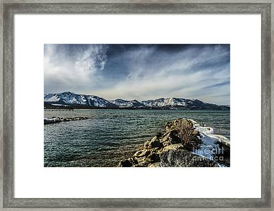 The Blustery Day Framed Print by Mitch Shindelbower