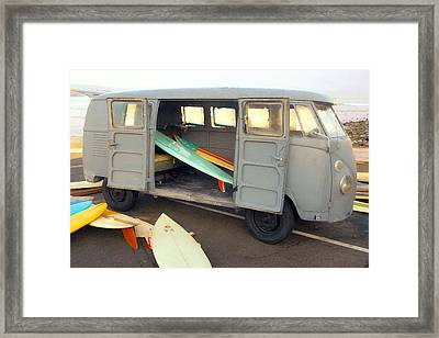 The Board Collection Framed Print by Ron Regalado