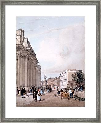 The Board Of Trade, Whitehall Framed Print by Thomas Shotter Boys