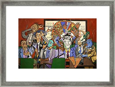 The Board Room Framed Print by Anthony Falbo