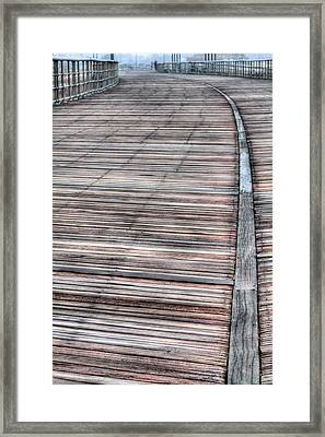 The Boardwalk II Framed Print