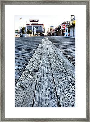 The Boardwalk Framed Print by JC Findley
