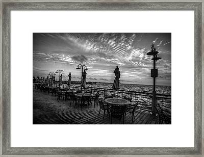 The Boardwalk Framed Print by Linda Unger