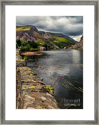 The Boat House Framed Print
