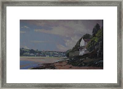 The Boat House Framed Print by Derek Williams