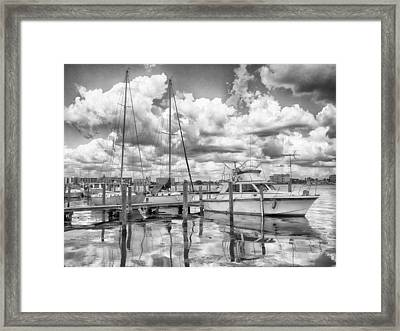 Framed Print featuring the photograph The Boat by Howard Salmon