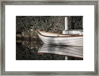 Framed Print featuring the photograph The Boat Narcissus by Kevin Bergen