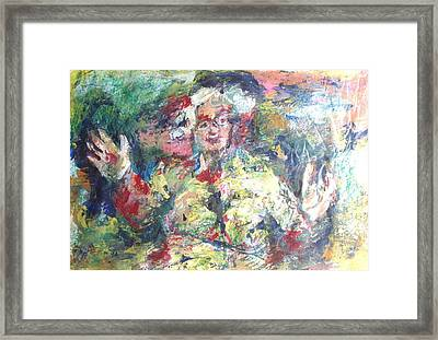 The Bobbe Framed Print by Esther Newman-Cohen