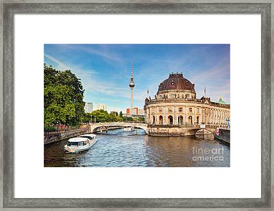 The Bode Museum Berlin Germany Framed Print