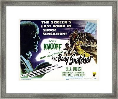 The Body Snatcher, Left And Top Right Framed Print