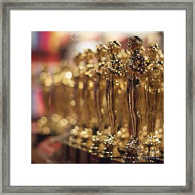 The Bokehed Oscars Framed Print