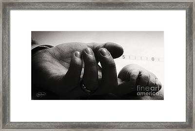 The Bond Framed Print by Cris Hayes