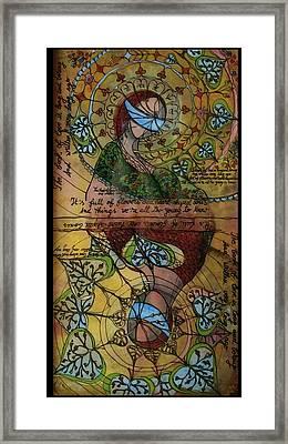 The Book Of Love - Part 1 Framed Print by Cornelia Tersanszki
