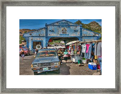 The Border Boogie Framed Print
