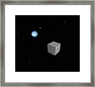 The Borg Have Entered Sector 001 Framed Print