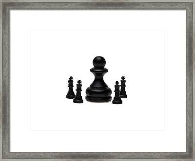 The Boss Framed Print by Alexander Senin