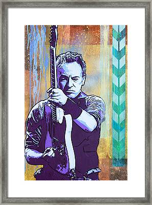 The Boss Framed Print by Bobby Zeik