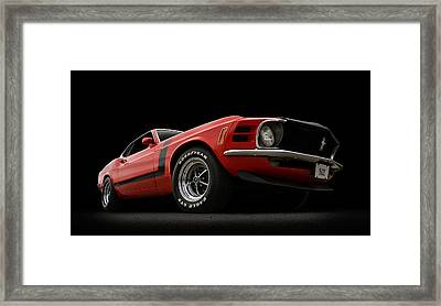 The Boss Framed Print by Douglas Pittman