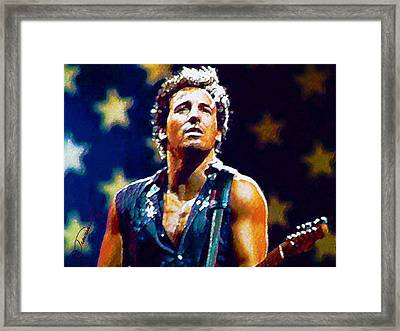 The Boss Framed Print
