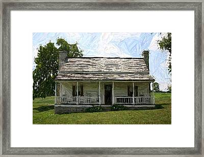 The Bottom House II - Perryville Ky Framed Print by Thia Stover