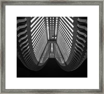 Cleavage Framed Print by Aaron Bedell