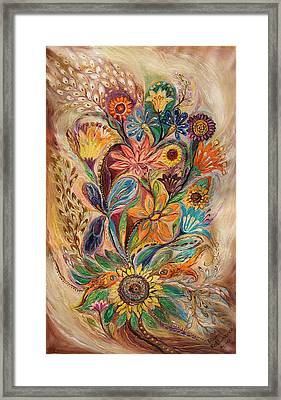 The Bouquet Of Life Framed Print by Elena Kotliarker