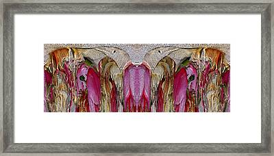 The Bouquet Unleashed 10 Framed Print by Tim Allen