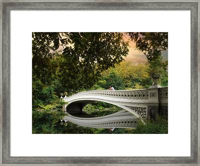 The Bow Bridge Framed Print