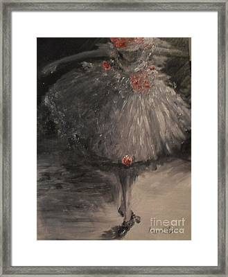 The Bow Framed Print by Laurie L