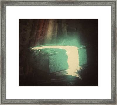 Framed Print featuring the photograph The Box For Wishes  by Steven Huszar