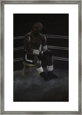 The Boxer 2013 Framed Print by Carl Frankel