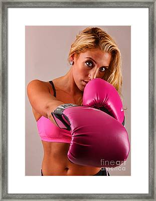 The Boxer IIi - Boxing Framed Print