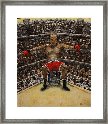 The Boxer Framed Print by Richard Wandell