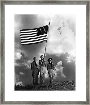 The Boy Scouts Framed Print