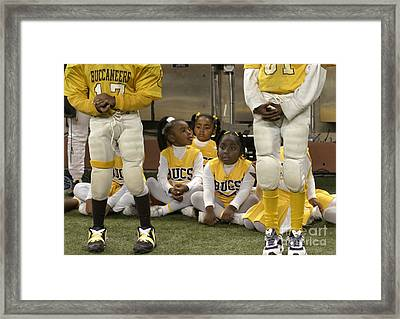 The Boys And The Girls Framed Print