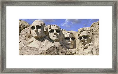 The Boys Of Summer 2 Panoramic Framed Print by Mike McGlothlen