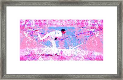 The Boys Of Summer 5d28161 The Pitcher V2 Long Framed Print by Wingsdomain Art and Photography