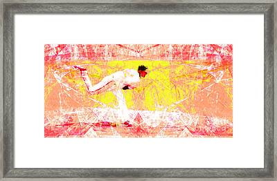 The Boys Of Summer 5d28161 The Pitcher V3 Long Framed Print by Wingsdomain Art and Photography