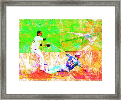The Boys Of Summer 5d28208 The Double Play Framed Print by Wingsdomain Art and Photography