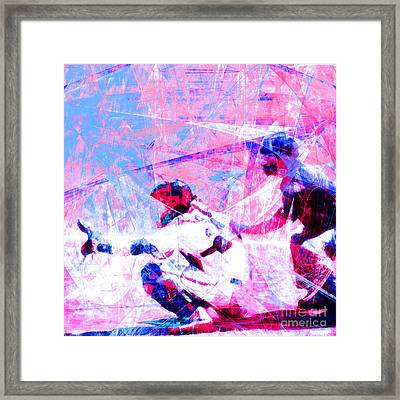 The Boys Of Summer 5d28228 The Catcher Square V3 Framed Print