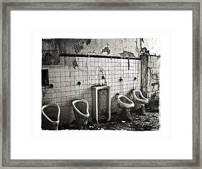 The Boys Room Framed Print by Tanya Jacobson-Smith
