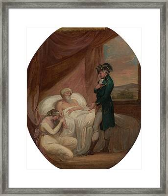 The Brahmin Committing His Daughter Coraly To The Care Framed Print
