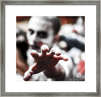 Framed Print featuring the photograph The Brain Snatcher by Stwayne Keubrick