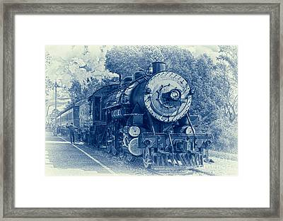 The Brakeman - Vintage Framed Print