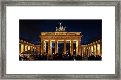 The Brandenburg Gate Framed Print by Babak Tafreshi