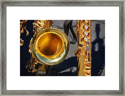The Brass Section Framed Print